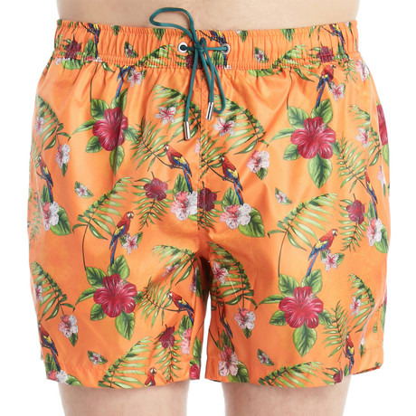 Alexander Swim Shorts // Orange (S)