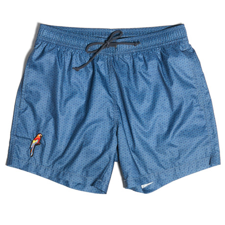 Sean Swim Shorts // Navy Blue (S)