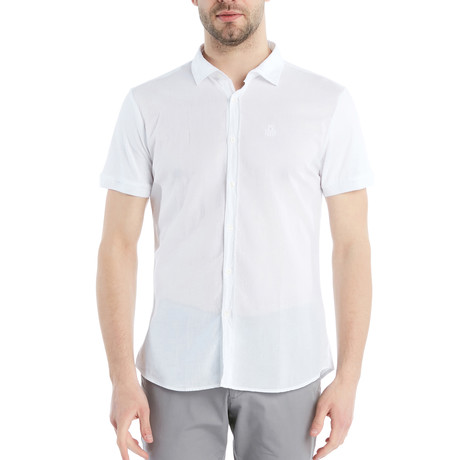 Leo Slmi Fit Shirt // White (S)