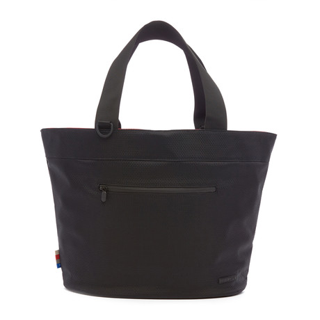 Cape Town Reversible Tote // Black + Red