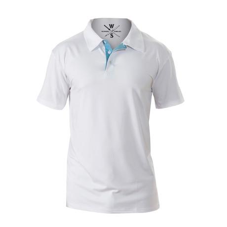 Julius Moisture Wicking Polo // White (S)