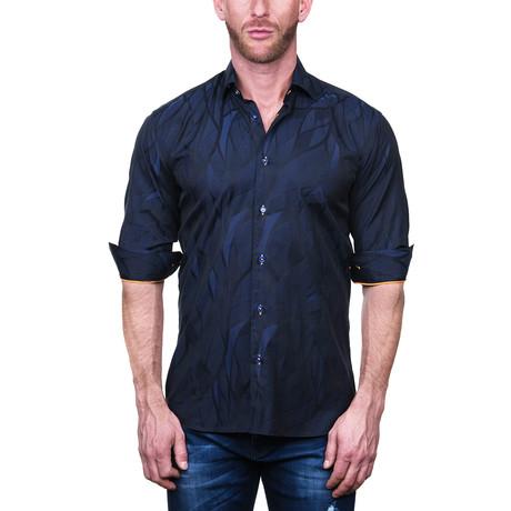 Fibonacci Dress Shirt // Wave Blue (S)