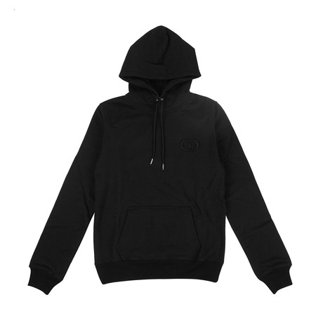 CD Icon' Logo Hooded Sweatshirt // Black (XXXS)
