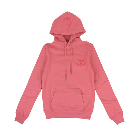 CD Icon' Logo Hooded Sweatshirt // Pink (XXXS)