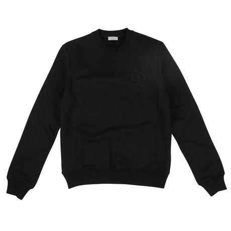 CD Icon' Logo Crew-Neck Sweater // Black (XXXS)