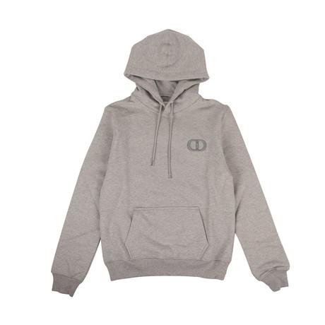 CD Icon' Logo Hooded Sweatshirt // Gray (XXXS)