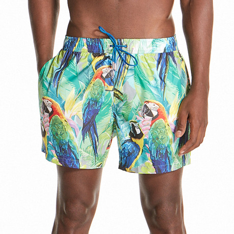 Isaac Swim Shorts // Depths (S)