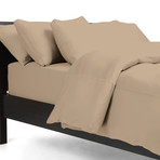 THERMA LUX Cooling Duvet Cover // Khaki (Full/Queen)