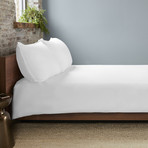 THERMA LUX Cooling Duvet Cover // White (Full/Queen)
