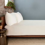 THERMA LUX Cooling Duvet Cover // Ecru (Full/Queen)