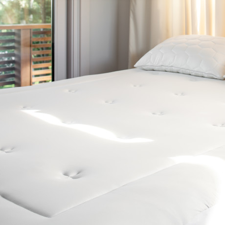 THERMA LUX Down Alt Mattress Pad (Full/Queen)