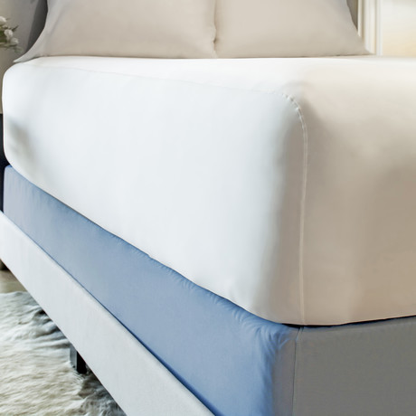 THERMA LUX Box Spring Wrap // Carolina Blue (Full/Queen)