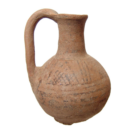 Ancient Mesopotamia, Assyrian Ceramic Juglet // 1900 - 1600 BC