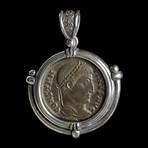 Roman Constantine the Great Coin Necklace // circa 324 AD