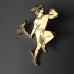 Hermes Pin // Gold