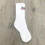 Essential Socks // White