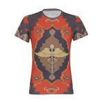 Tapestry Print T-Shirt // Multicolor (L)