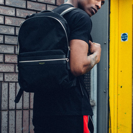 City Backpack // Black