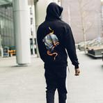 Skull Hoodie // Black (L)