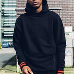 Essential Hoodie // Black (XL)