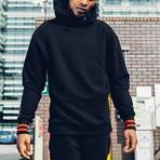 Essential Hoodie // Black (L)