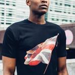 Union Jack T-Shirt // Black (L)