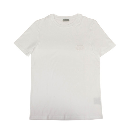 CD Icon' Short Sleeve T-Shirt // White (XXXS)
