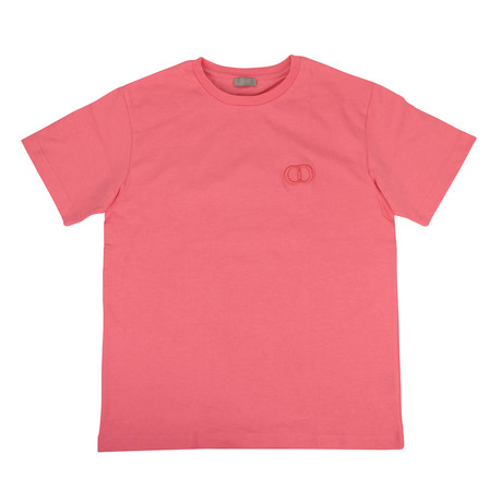 Thick Cotton 'CD Icon' T-Shirt // Pink (XXXS)