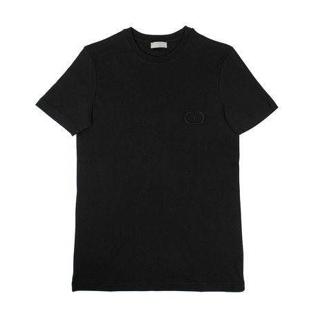 CD Icon' Short Sleeve T-Shirt // Black (XXXS)