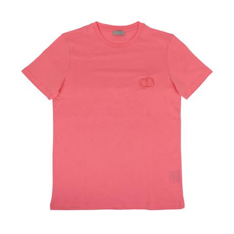 CD Icon' Logo Short Sleeve T-Shirt // Pink (XXXS)
