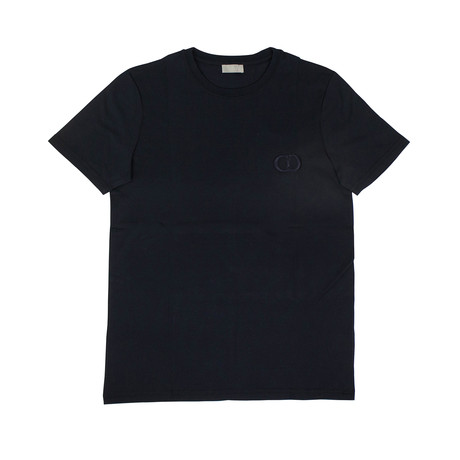 CD Icon' Short Sleeve T-Shirt // Navy Blue (XXXS)