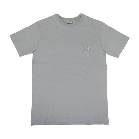 Thick Cotton 'CD Icon' T-Shirt // Gray (XXXS)