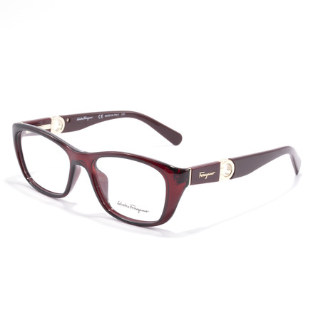 Women's SF2765 Optical Frames // Crystal Burgundy