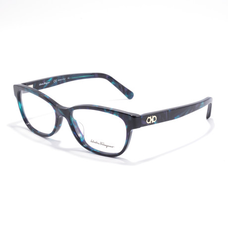 Women's SF2788 Optical Frames // Turquoise + Blue Marble