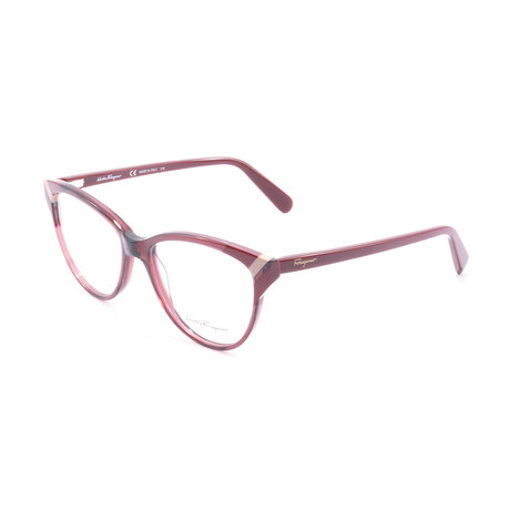 Women's SF2844 Optical Frames // Wine