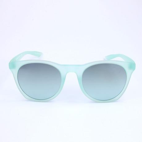Unisex Essential Horizon Sunglasses // Matte Igloo + Teal