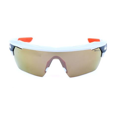 Men's Hyperforce Elite Sunglasses // Platinum + Green + Ivory + Gray
