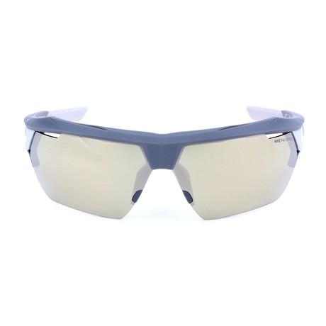 Men's Hyperforce Elite Sunglasses // Gray + Green + Ivory