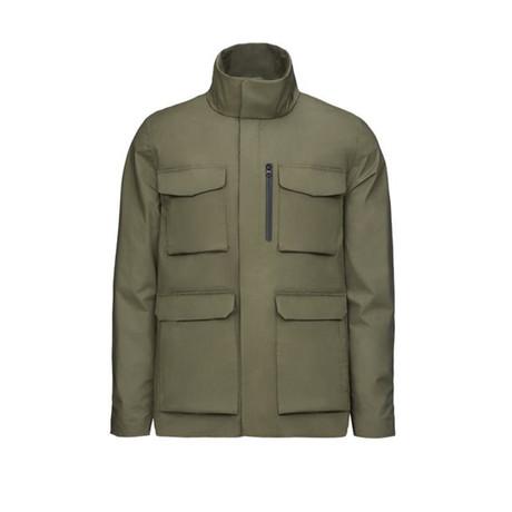 Motion Field Jacket // Dark Pine (S)