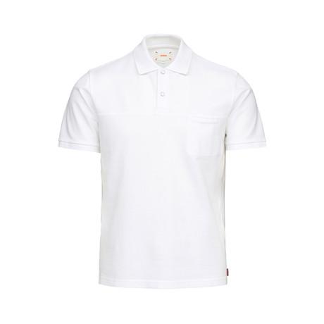 Breeze Polo Shirt // White (S)