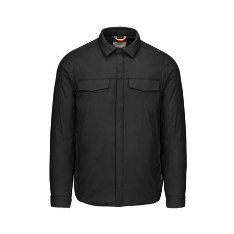 Motion Shirt Jacket II // Black (S)