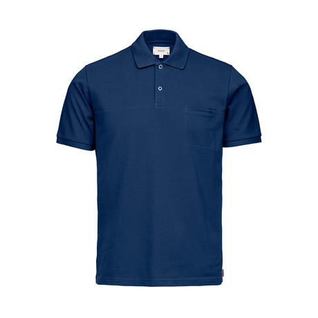 Breeze Polo Shirt // Navy (S)