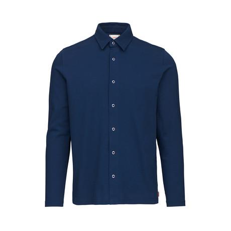Breeze Jersey Shirt // Navy (S)
