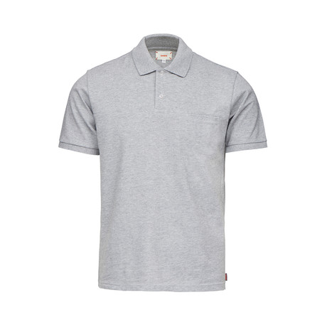 Breeze Polo Shirt // Gray Melange (S)