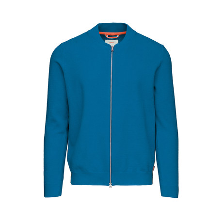 Breeze Knit Cardigan // Seaport Blue (S)