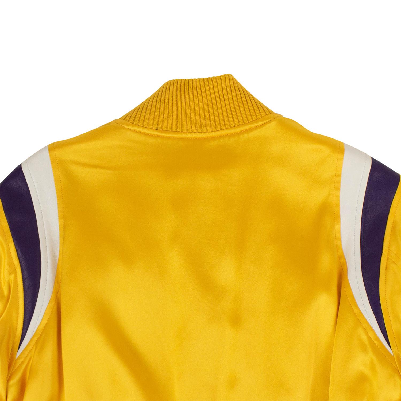 Men's Varsity Baseball Bomber Jacket // Yellow (XL ...