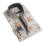 Celino // Reversible Cuff Button-Down Shirt II // Beige (S)