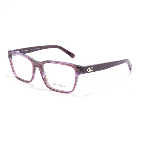 Women's SF2790 Optical Frames // Striped Purple