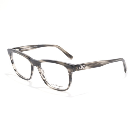 Men's SF2780 Optical Frames // Striped Gray