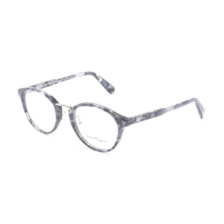 Women's SF2820 Optical Frames // Black + Gray Stone